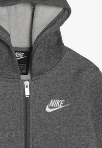 Nike Sportswear - CLUB HOODIE - Felpa con zip - carbon heather - 4