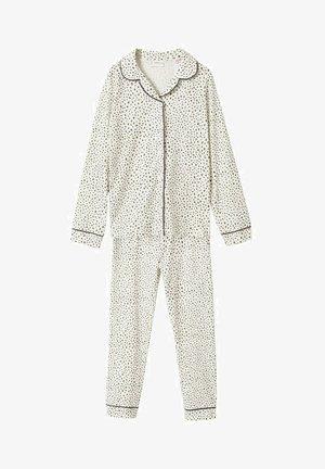 Pyjama - gebroken wit