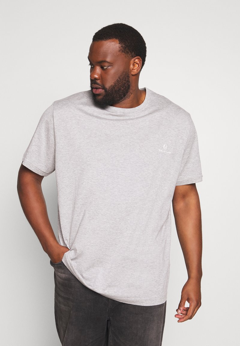Belstaff - Big & Tall BELSTAFF - Basic T-shirt - grey melange