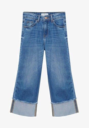 BETTY - Bootcut jeans - medium blue