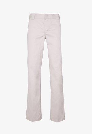 873 SLIM STRAIGHT WORK PANT - Trousers - violet