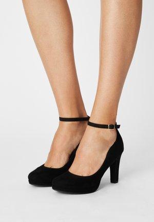 COMFORT - Zapatos altos - black