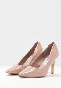 Dune London WIDE FIT - WIDE FIT ANNA - Højhælede pumps - cappuccino - 4