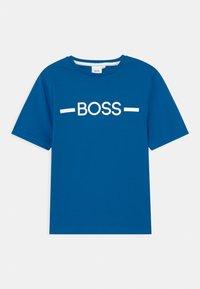 BOSS - SHORT SLEEVES - Print T-shirt - pale blue - 0