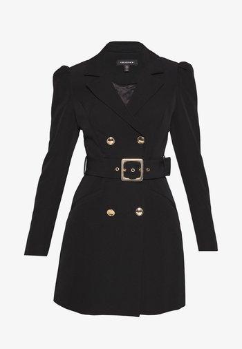 BERNADETTE BELTED BLAZER DRESS