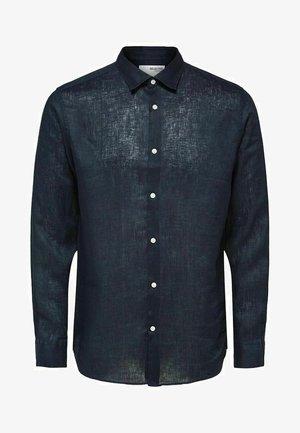 Zakelijk overhemd - navy blazer