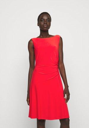 MID WEIGHT DRESS - Jersey dress - african flower