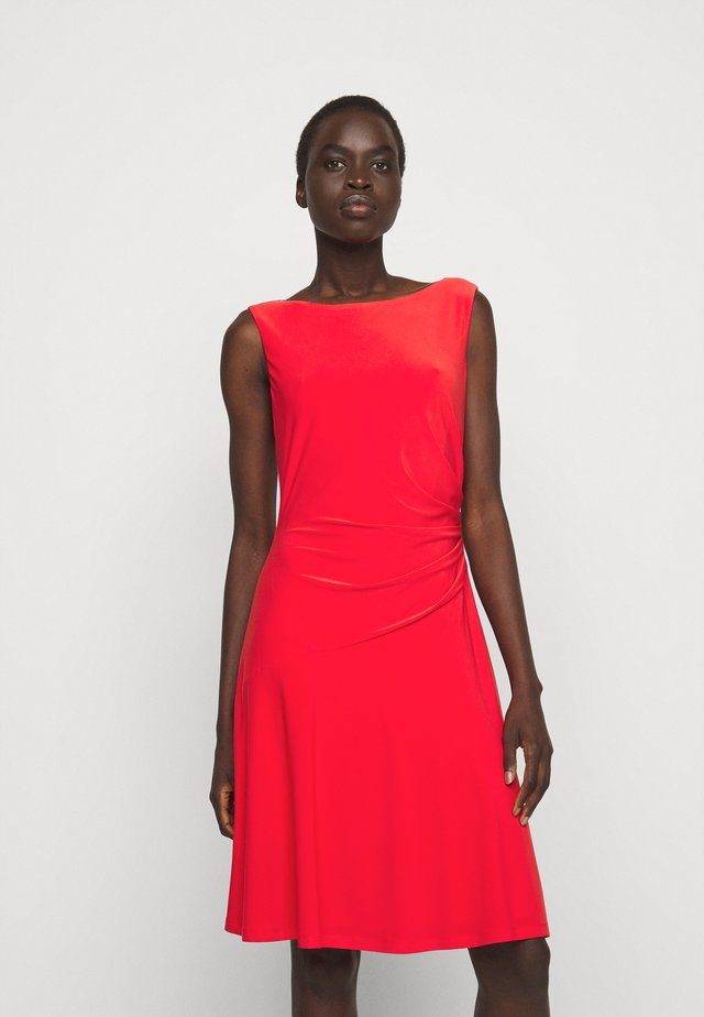 MID WEIGHT DRESS - Vestito di maglina - african flower