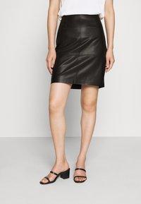 comma - Pencil skirt - black - 0