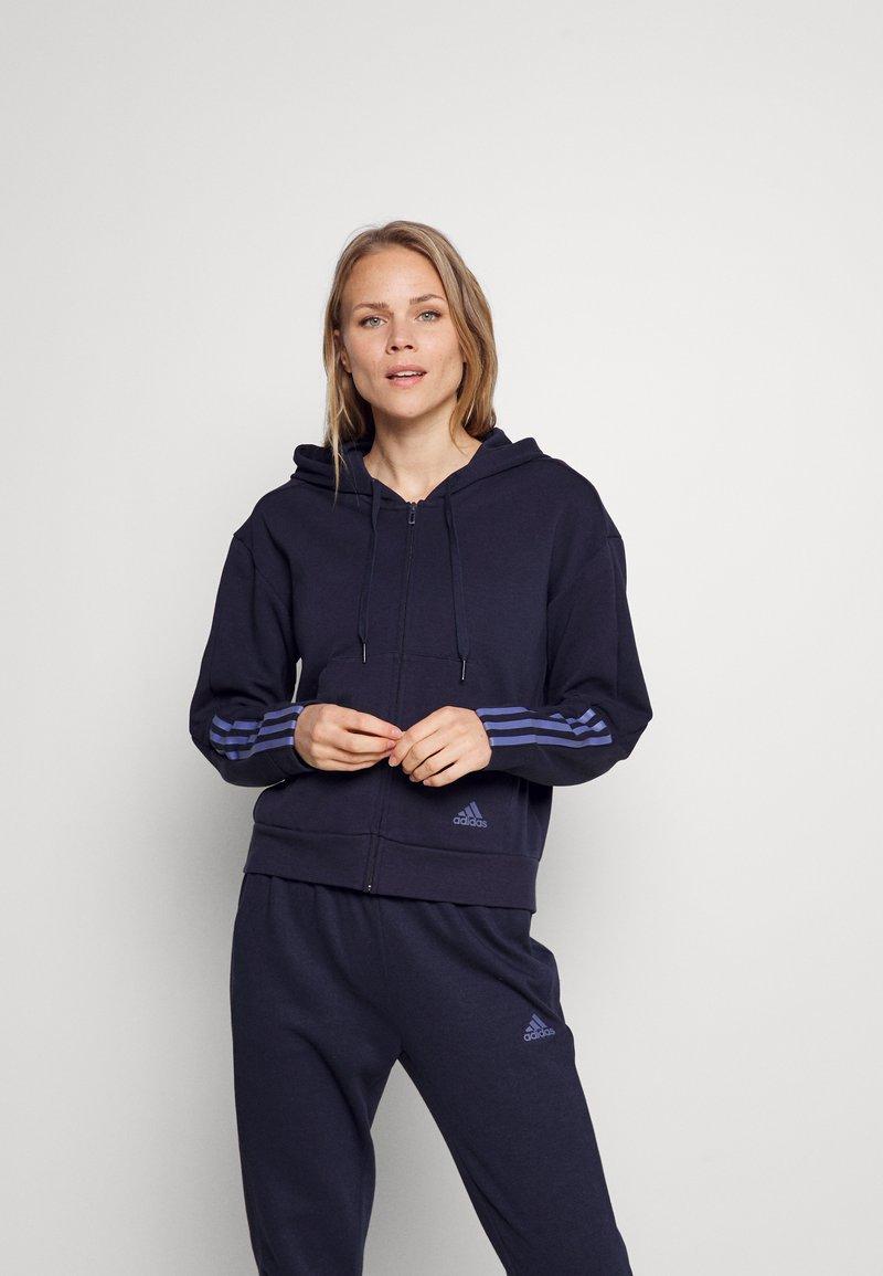 adidas Performance - Treningsjakke - legend ink