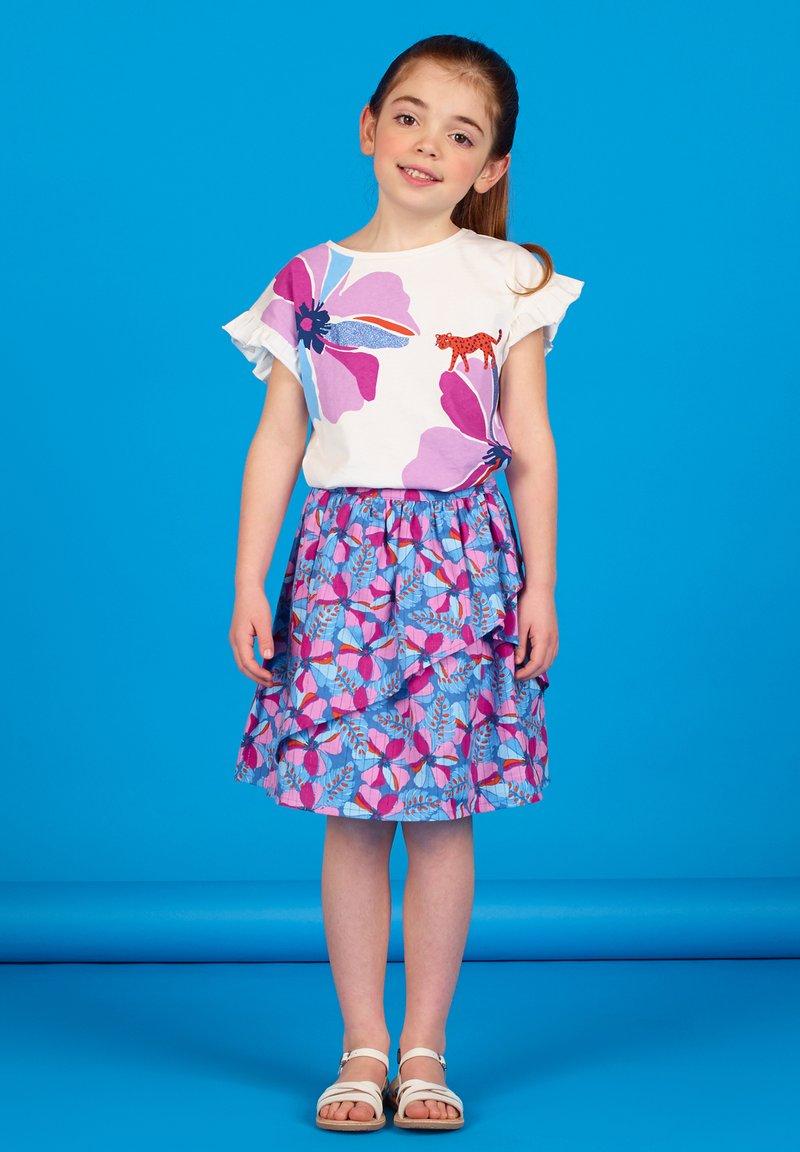 Du Pareil au Même - Wrap skirt - blue