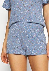 Marks & Spencer London - DITSY SHORTIE - Pyjamas - chambray - 5