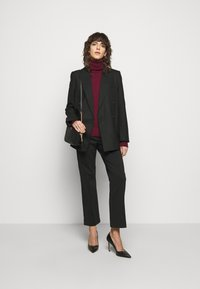 MICHAEL Michael Kors - TURTLE NECK - Jumper - dark ruby - 1
