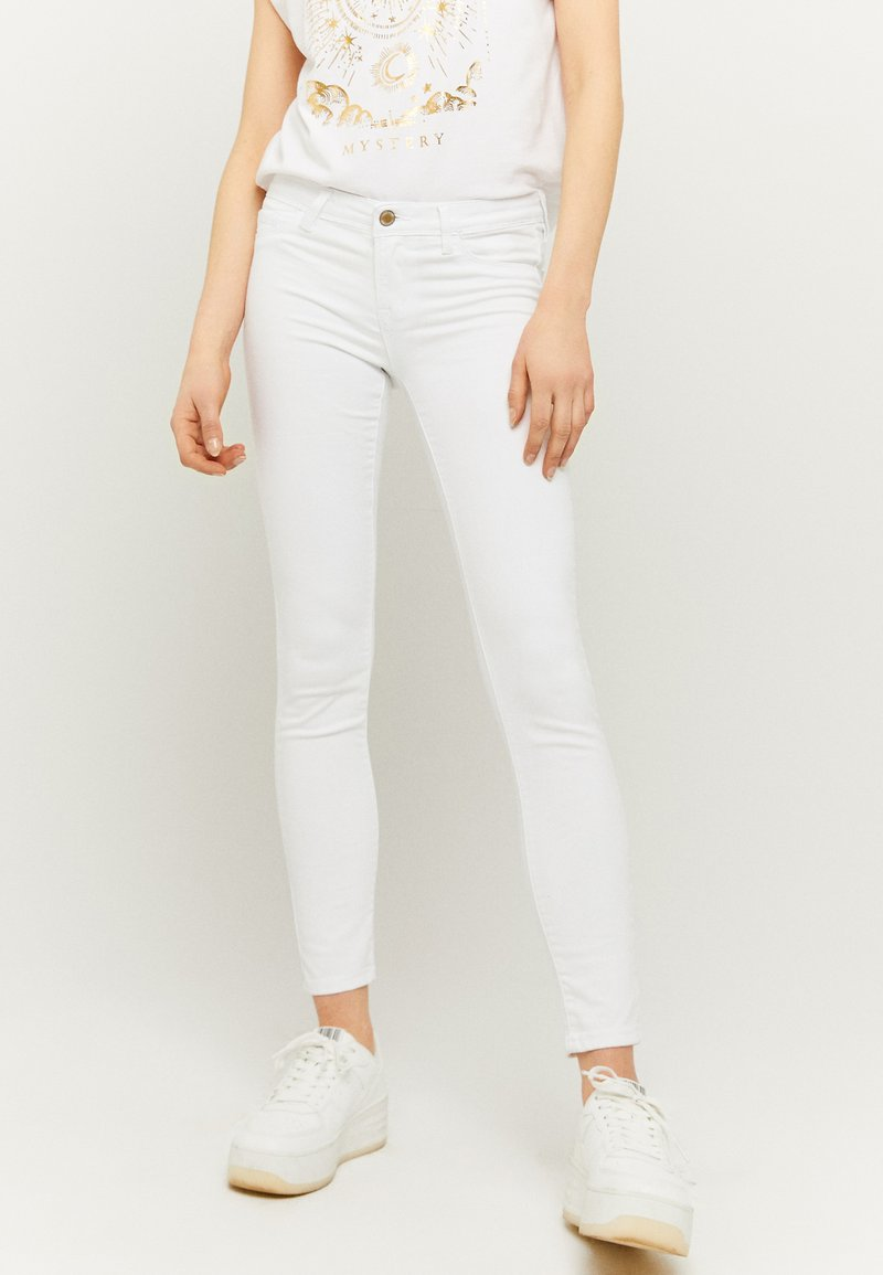 TALLY WEiJL - Jeans Skinny Fit - whi