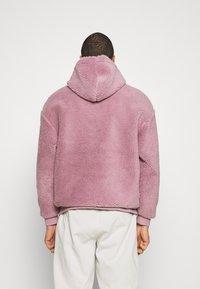 Topman - DUSTY BORG HOOD - Sweater - lilac - 2
