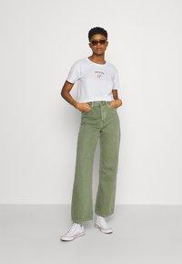 Hollister Co. - Print T-shirt - white - 1