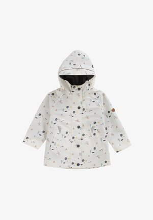 COASTAL WOODLAND - Waterproof jacket - white