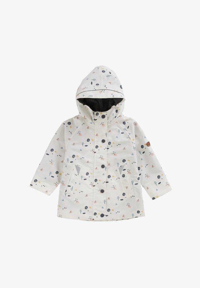COASTAL WOODLAND - Waterproof jacket - white