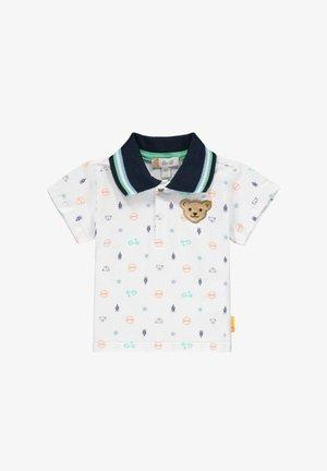 SCHÖNEN PRINTELEMENTEN - Poloshirt - bright white