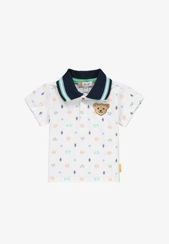 SCHÖNEN PRINTELEMENTEN - Polo shirt - bright white