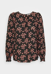 Wallis Petite - FAN FLORAL - Bluser - black - 0