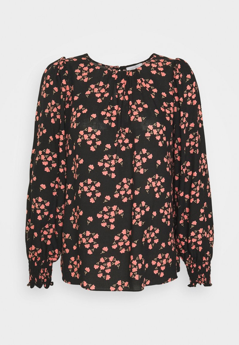 Wallis Petite - FAN FLORAL - Bluser - black
