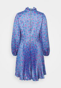 Closet - CLOSET HIGH NECK PLEATED DRESS - Cocktail dress / Party dress - blue - 1
