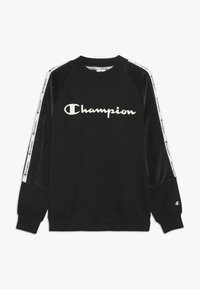 Champion - BRAND REVOLUTION CREWNECK - Collegepaita - black - 0