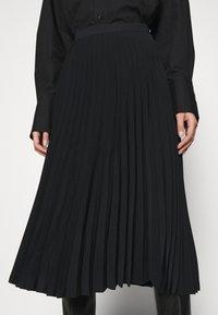 ARKET - SKIRT - Jupe plissée - black dark - 3