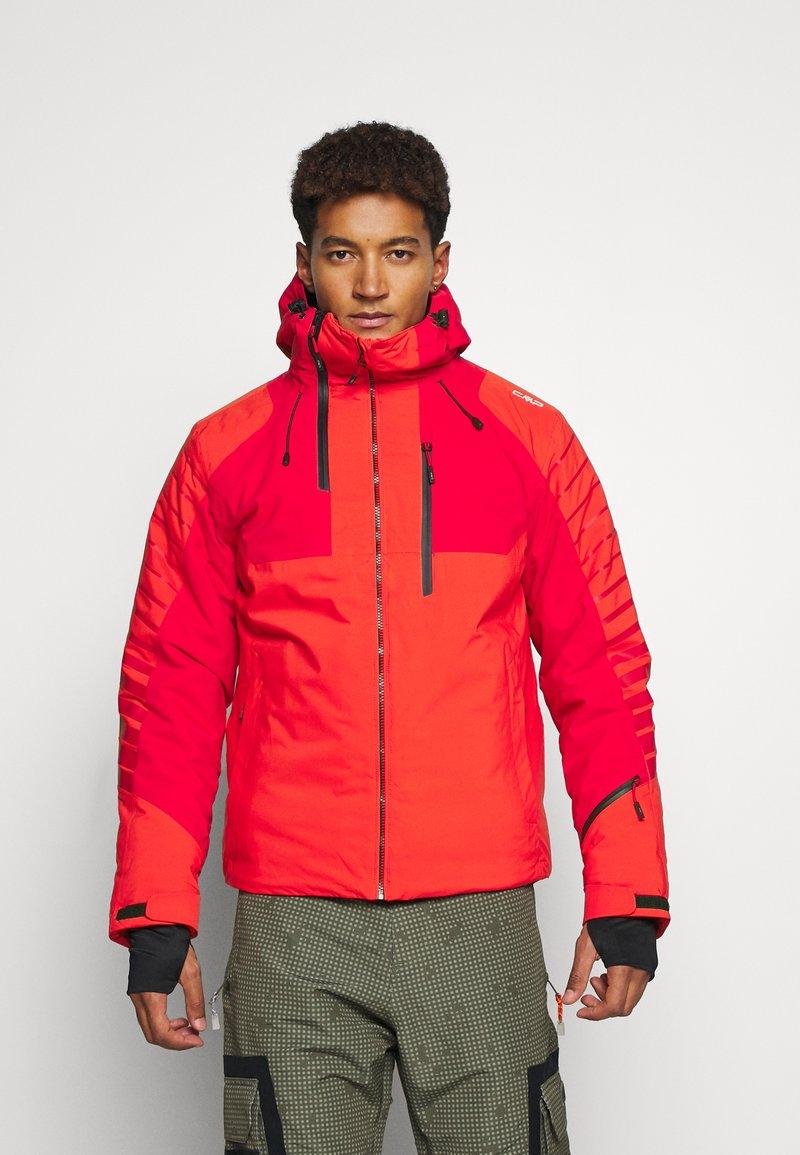 CMP - MAN JACKET FIX HOOD - Ski jacket - tango