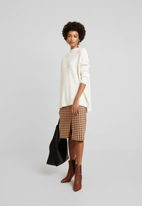 Culture - CUOLIVIA  - Stickad tröja - whitecap melange - 1