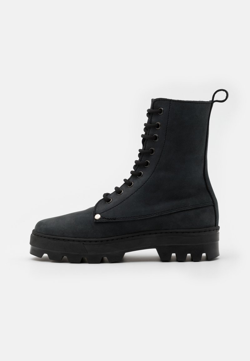 DECHASE - BOKINA UNISEX - Lace-up ankle boots - black