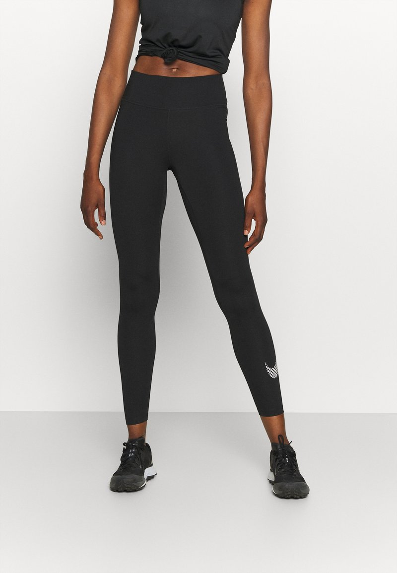 Nike Performance - ONE - Collant - black/white