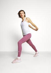 Nike Performance - ONE SLIM TANK - Topper - white - 1