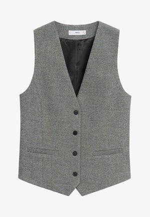 MILAN - Waistcoat - gris