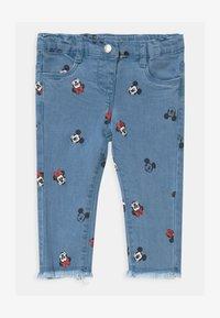 OVS - MINNIE - Slim fit jeans - faded denim - 0