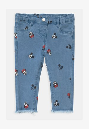 MINNIE - Džíny Slim Fit - faded denim