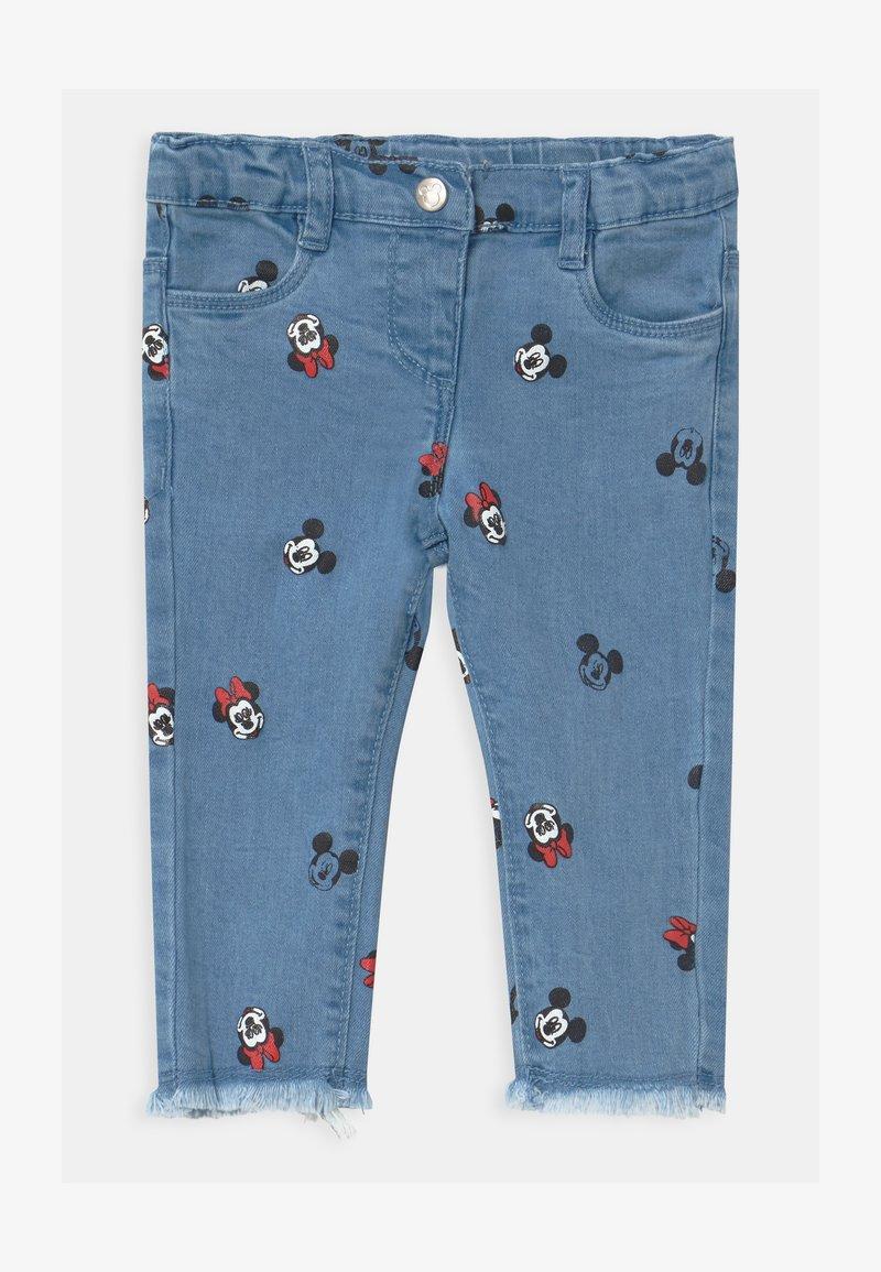 OVS - MINNIE - Slim fit jeans - faded denim