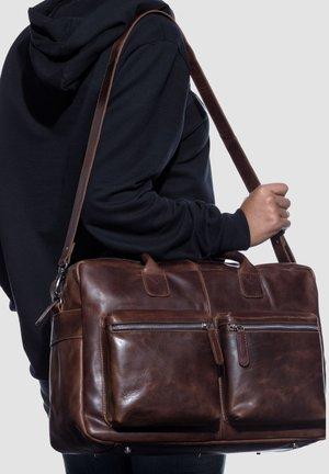 LAPTOPTASCHE - BRIGHTON - Laptop bag - braun-cognac