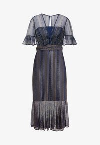 Three Floor - EXCLUSIVE DRESS - Day dress - navy gold - 7