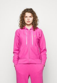 Polo Ralph Lauren - FEATHERWEIGHT - Zip-up hoodie - peony - 0