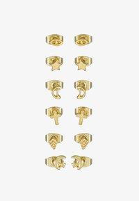Leslii - 6 PACK - Earrings - gold-coloured - 3