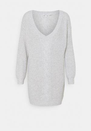 TURN A CORNER - Pletené šaty - heritage heather