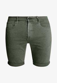 G-Star - 3301 SLIM SHORT - Shorts di jeans - dark lever - 3
