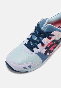 ASICS SportStyle - GEL-LYTE III UNISEX - Baskets basses - aqua/mako blue - 4