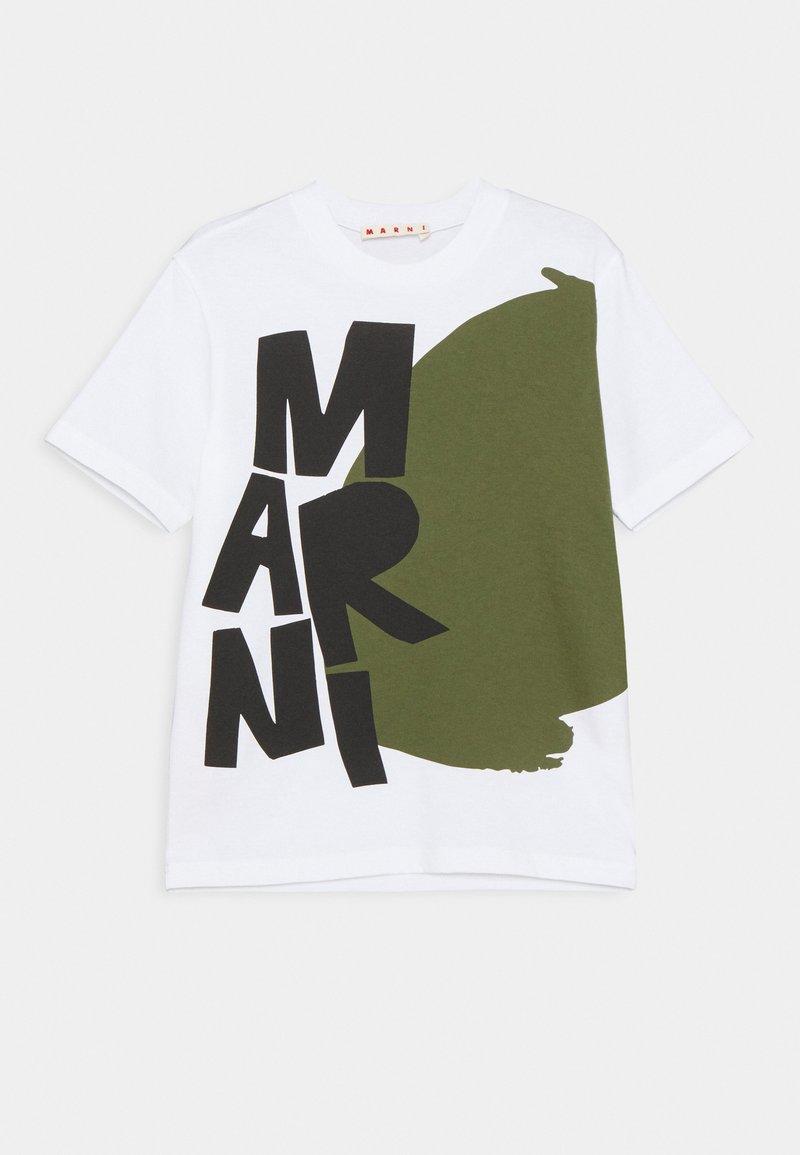 Marni - MAGLIETTA - Print T-shirt - white