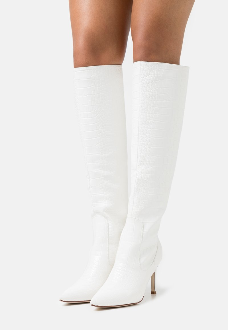 BEBO - TRIBUTE - High heeled boots - white