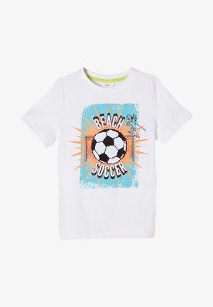 MIT ARTWORK - T-shirt con stampa - white