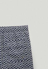Massimo Dutti - Swimming trunks - blue-black denim - 6