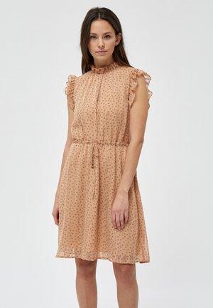 SOUL  - Day dress - tropical peach stripe